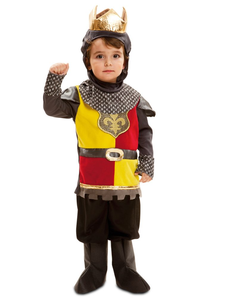 Disfraz de rey batallador para niño
