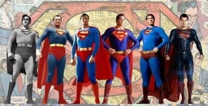 evolucion superman