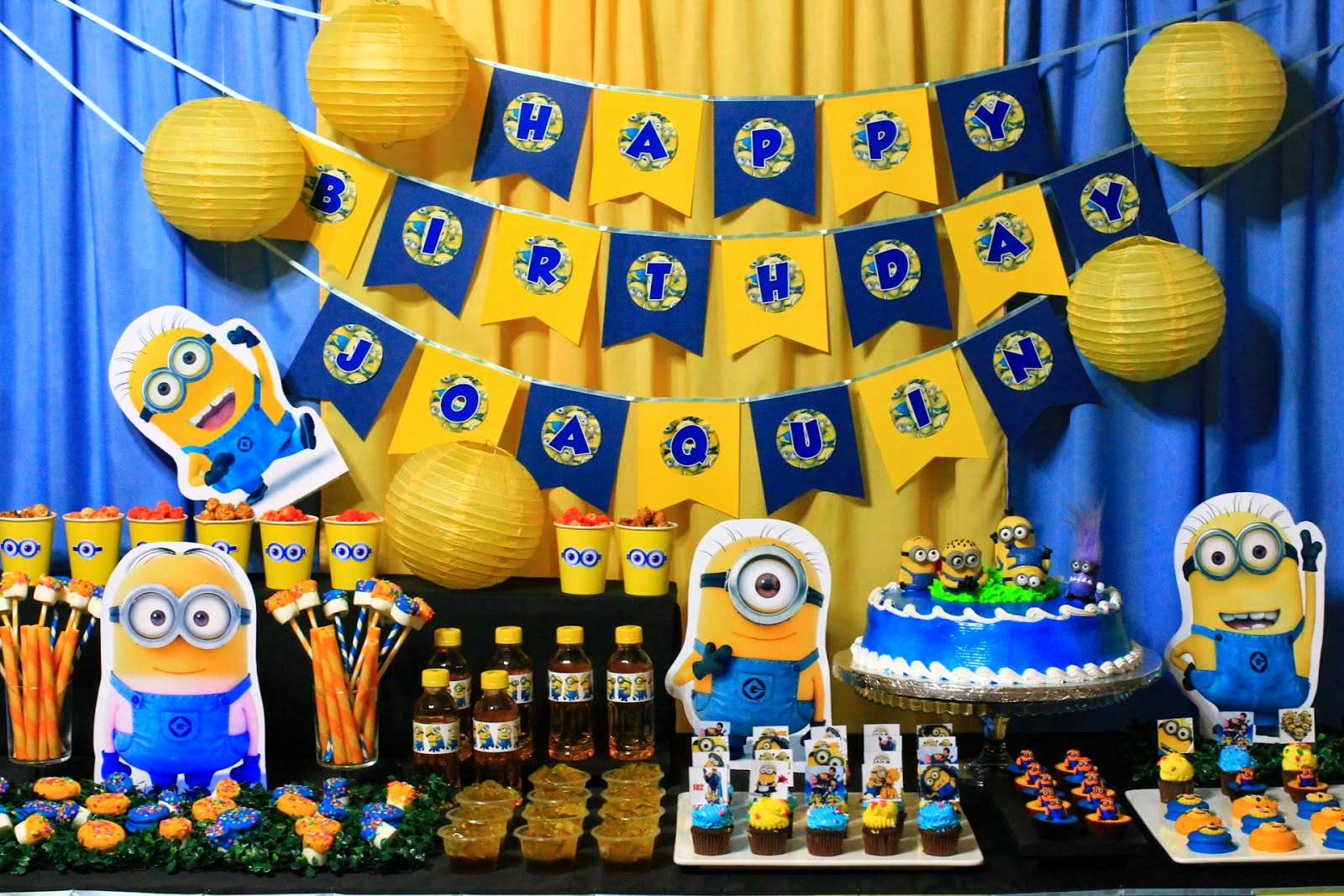 Fiesta cumplea os minion decoracion ideas diy y disfraces for Paginas de ideas de decoracion