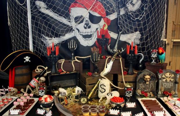Deco Pirate Anniversaire : f te th matique pirate l 39 abordage ~ Nature-et-papiers.com Idées de Décoration