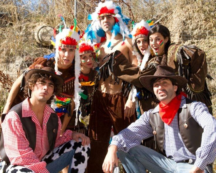 Disfraces Far West  Saca tu disfraz de indio o vaquero y vive el Lejano  Oeste como nunca antes. 6b824cdfe6d