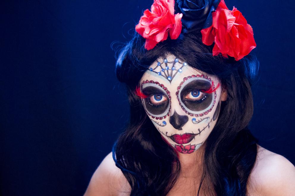 Cómo Maquillarse De Catrina Disfraz De Calavera Mexicana