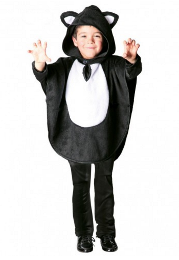 disfraz de gato negro