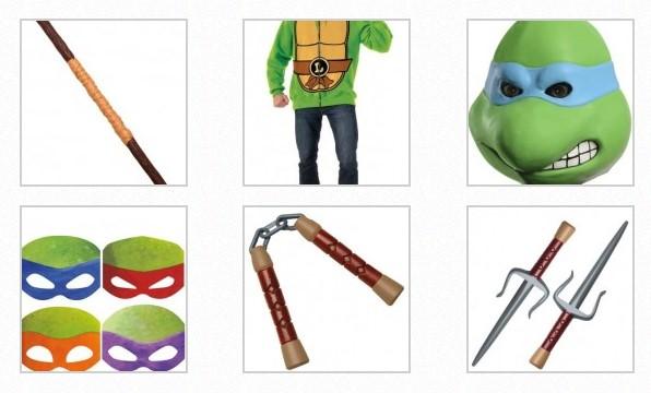 accesorios tortues ninja