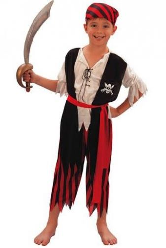 pirata child costume