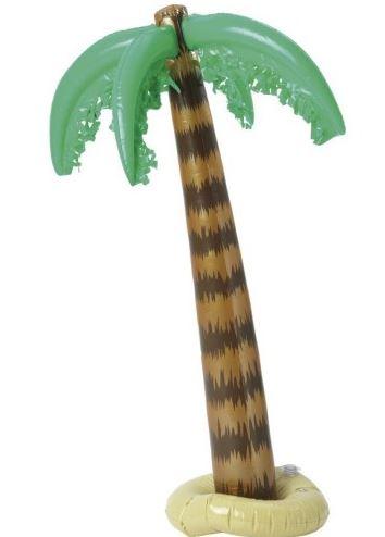 palmera hinchable