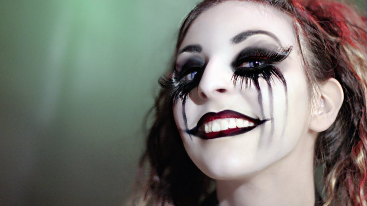 maquillage harley quinn