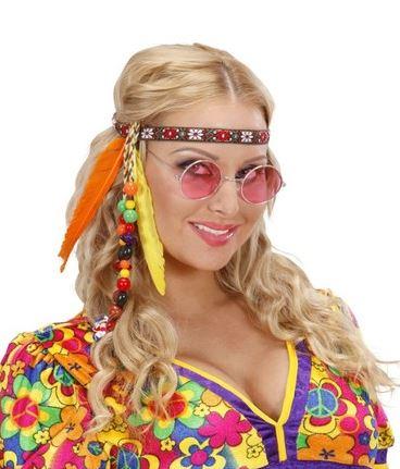 cinta hippie pelo