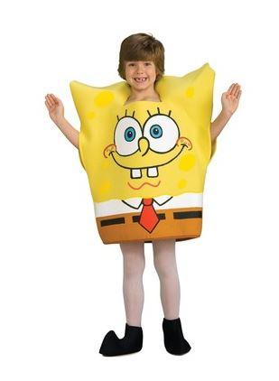 disfraz bob esponja niño