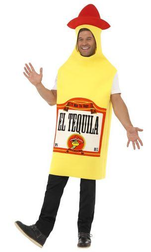 disfraz botella tequila