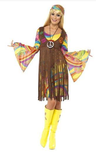 disfraz chica años 60