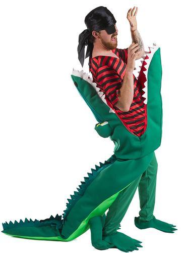 disfraz cocodrilo devorador