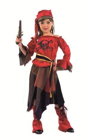 disfraz corsaria niña