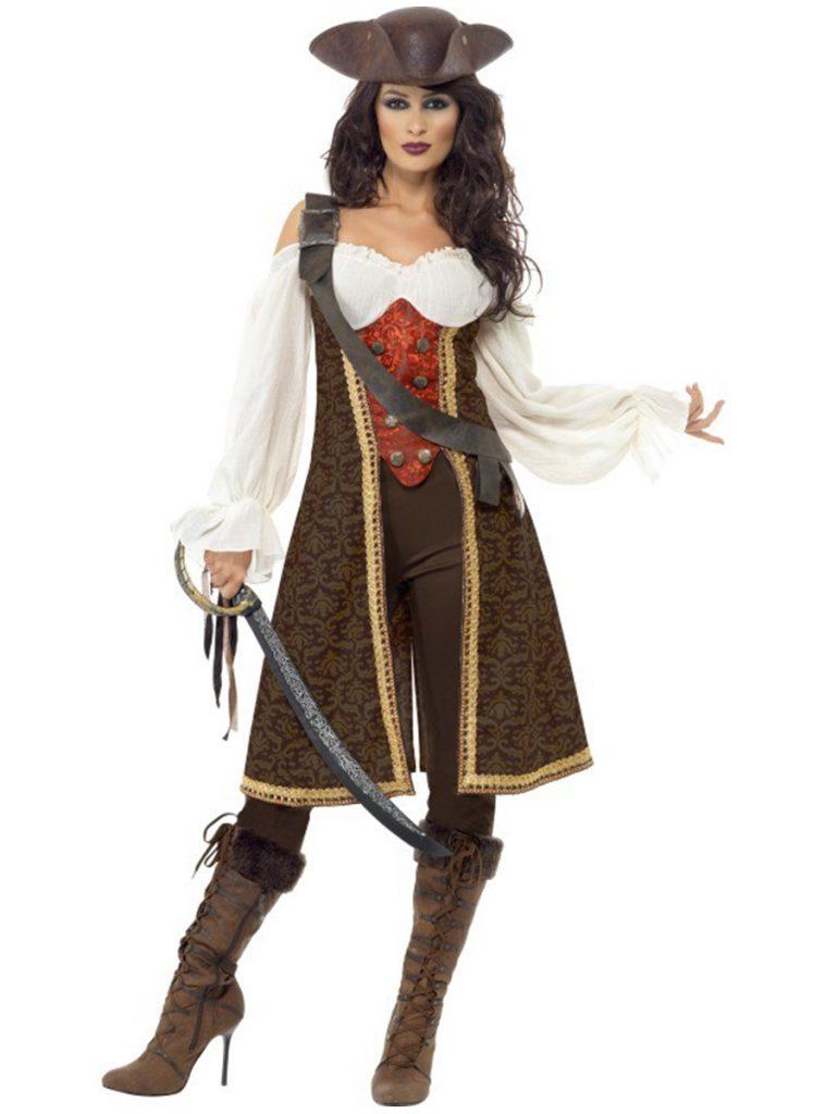 Disfraz de Pirata Mujer