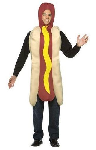 disfraz de perrito caliente hot dog