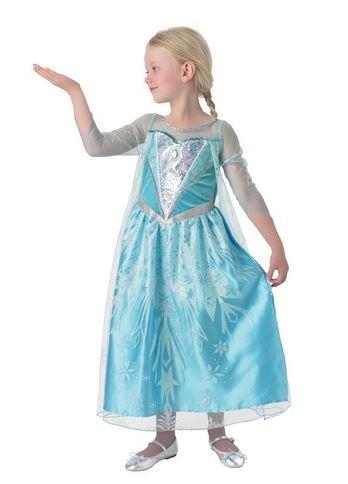 disfraz elsa elsa frozen niña