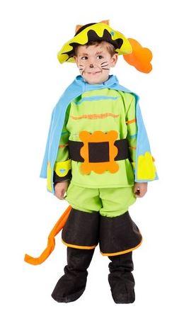 disfraz gato con botas niño