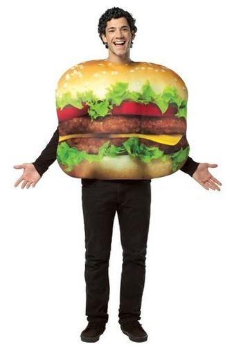 disfraz hamburguesa
