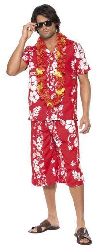disfraz hawai hombre