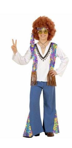 disfraz hippie niño woodstock