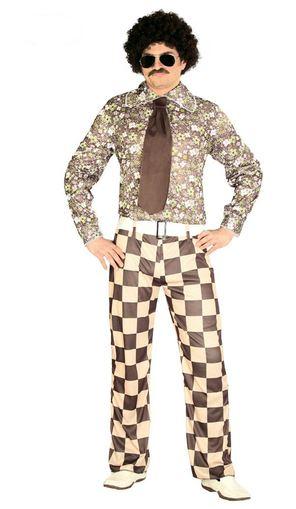 disfraz hombre años 60