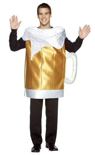 disfraz jarra cerveza