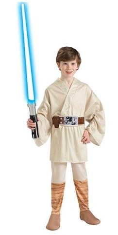 travestimento luke skywalker child