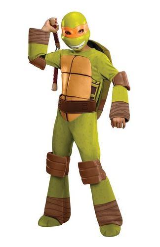 disfraz miguel angel tortugas ninja niño