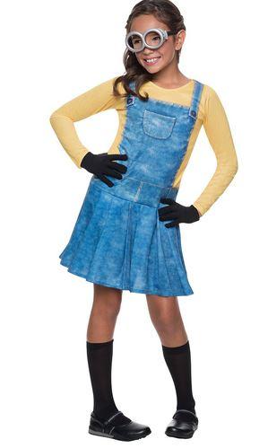 disfraz minion niña