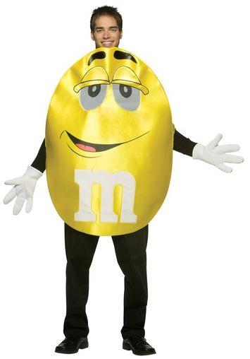 disfraz m&m amarillo