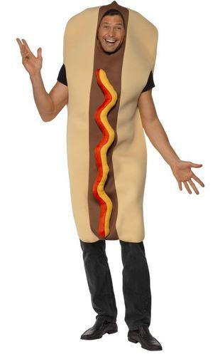 disfraz perrito caliente