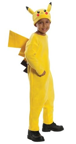 disfraz pikachu niño