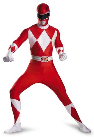 disfraz powe ranger rojo