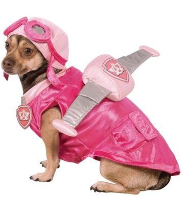disfraz skye patrulla canina perro