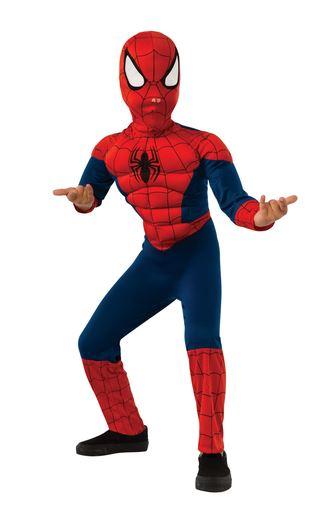 travestimento spiderman child