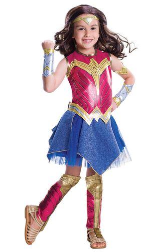 disfraz wonderwoman niña
