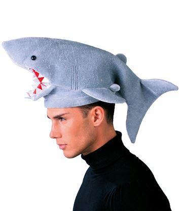gorro de tiburon