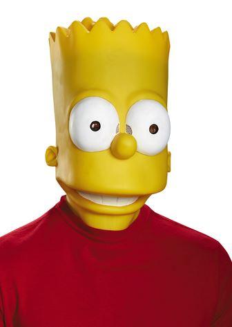 mascara bart simpson