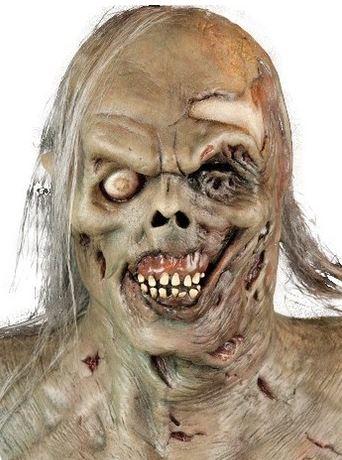 mascara halloween zombie pantano