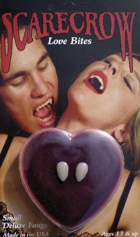 colmillos halloween mordisco del amor