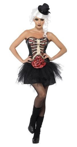 corsé sexy organos halloween