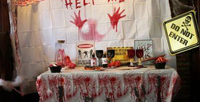 Decoraci n halloween - Fiesta halloween en casa ...