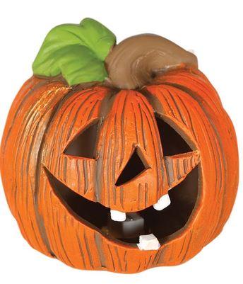 figura decorativa calabaza alegre halloween