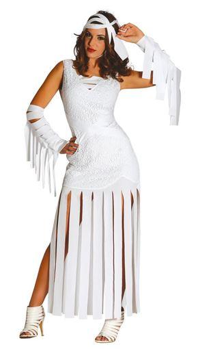 disfraz de momia sensual halloween