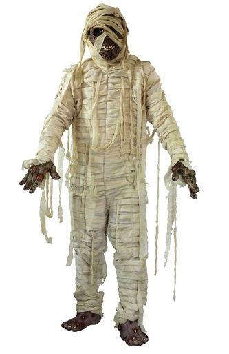 disfraz halloween de momia