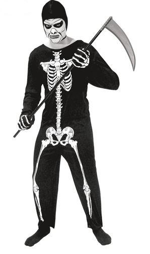 disfraz halloween esqueleto de la muerte