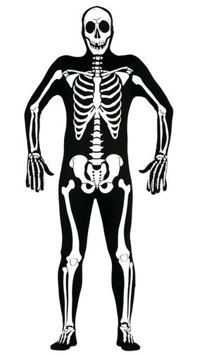 disfraz esqueleto segunda piel halloween