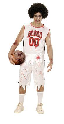 disfraz halloween jugador de baloncesto zombie