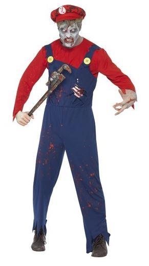 disfraz mario zombie halloween
