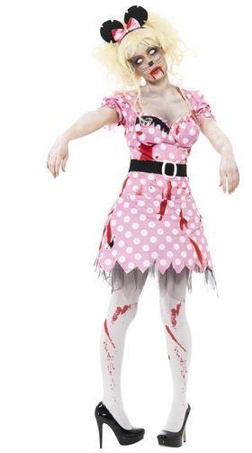 disfraz halloween minny zombie
